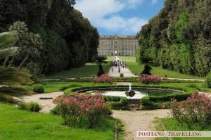 Margherita Fountain, Caserta Garden